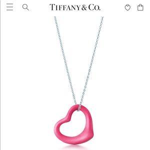 Tiffany & Co. necklace + heart pendant 💖